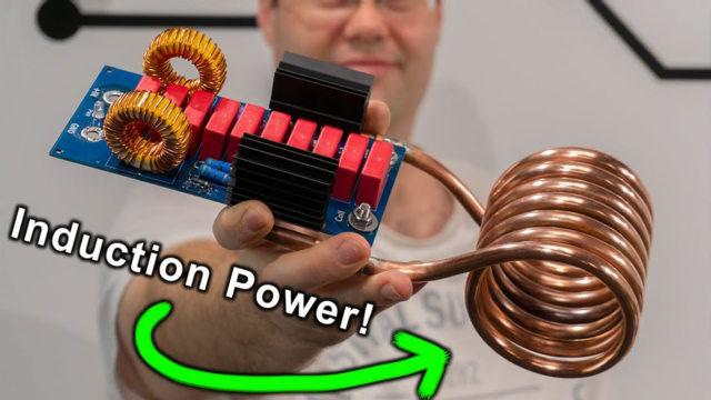 大神用铜管建造1100瓦的加热器,看看温度有多高
