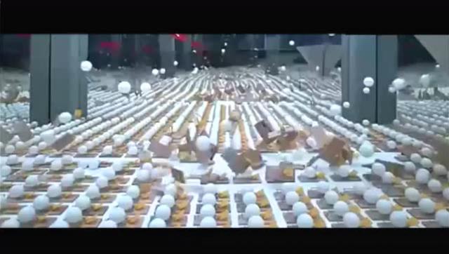 2000个捕鼠器与2000个乒乓球的终极链式反应