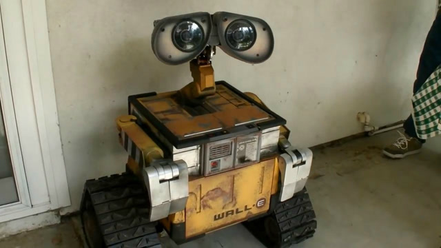 超酷的机器人瓦力,和电影里一模一样!