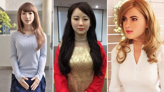 最漂亮的3个美女机器人,其中两个是国产!