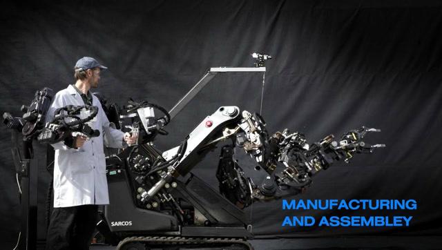 超牛的外骨骼与远程操控机器人