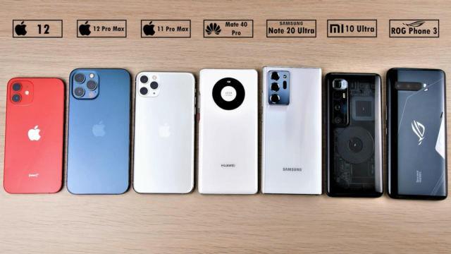 iPhone12大戰小米、華為旗艦機,誰電池最耐用?
