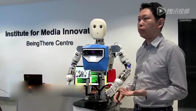新加坡研发新型社交机器人 有自己性格和情绪