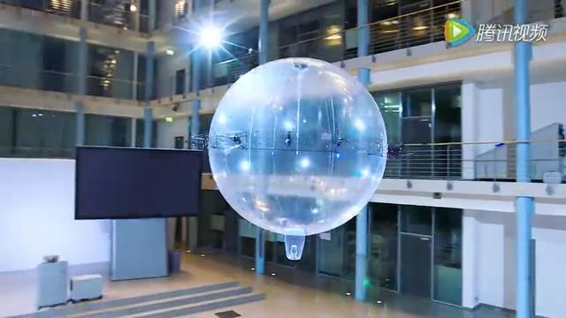 創意無限 德國公司發明泡泡狀無人機