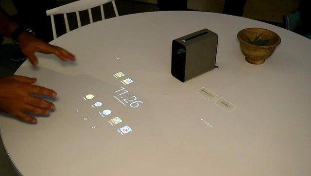 科幻新產品:索尼新概念投影儀Xperia Projector