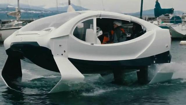 水上交通革命?法国推出全球首款水上出租车