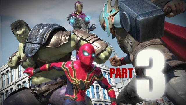 史诗级战斗:蜘蛛侠大战钢铁侠、绿巨人、雷神