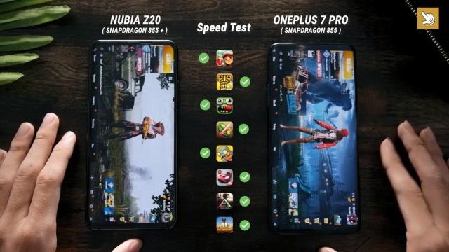 驍龍855+有多強?努比亞Z20與一加7 Pro性能對比測試