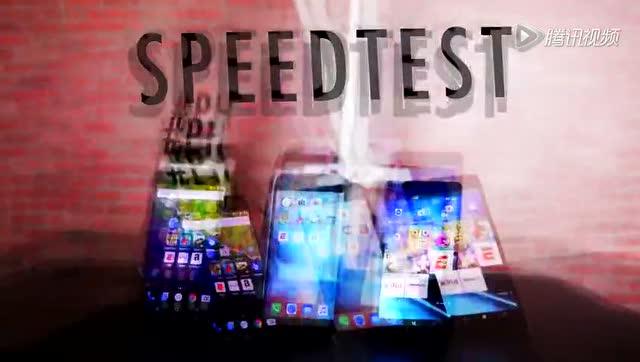 速度对比:iPhone6s P/Nexus 6P/Lumia950 XL