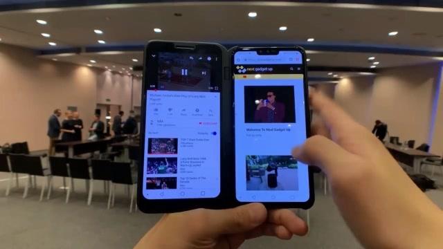 LG V50 ThinQ上手体验,扩展配件让手机秒变双屏!