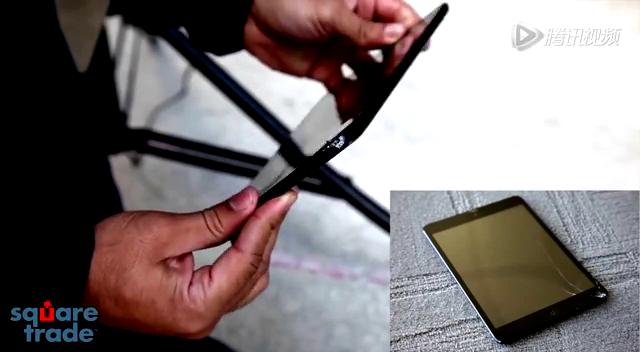 新旧Nexus 7/iPad mini跌落/防水测试