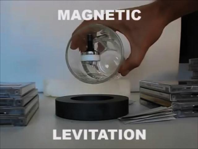 大开眼界!10个跟磁铁有关的神奇实验
