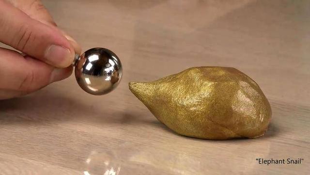 超強釹磁鐵遇上金屬橡皮泥會樣?