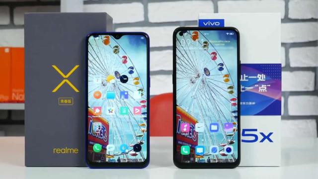 精美千元機!Vivo Z5x與Realme3 Pro對比評測