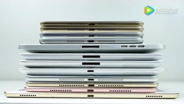 史上最全iPad對比測試:12款一個不少