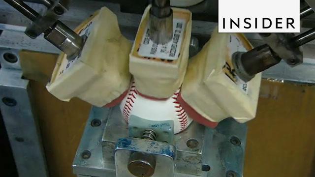 大开眼界!原来棒球是这样生产出来的