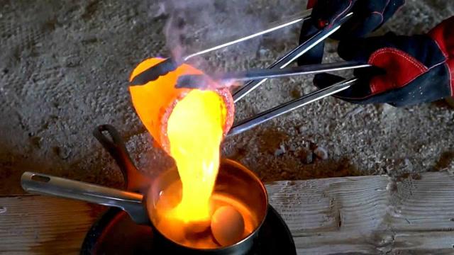 用导热熔盐炒鸡蛋,结果会怎样?