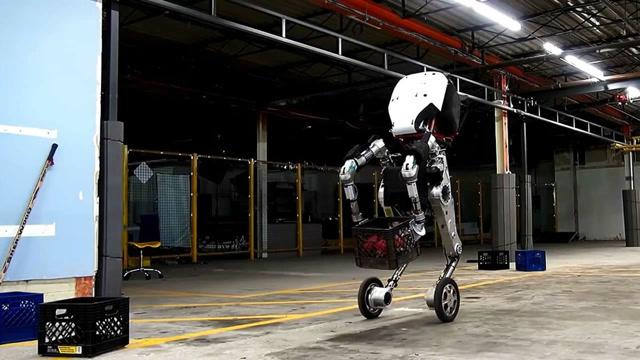 这就是世界上技术水平最高的轮足式机器人