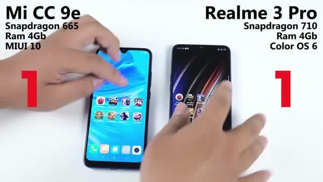 骁龙665机能若何?小米CC9e挑衅Realme 3 Pro