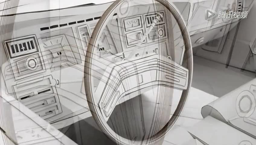 科技纸板小制作房屋