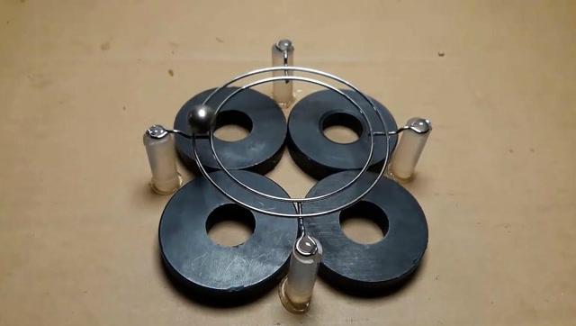 用磁铁和钢球做一个惊人的实验