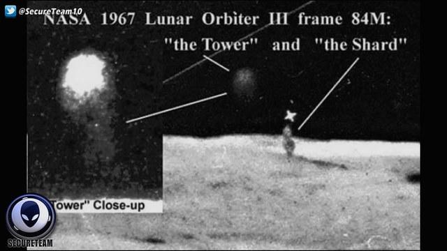 月球表面发现五根柱子:美国隐瞒50年