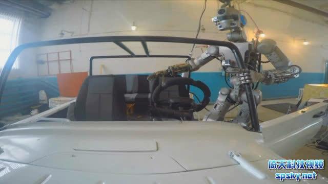 太强大了!俄罗斯自主机器人各项任务能力测试