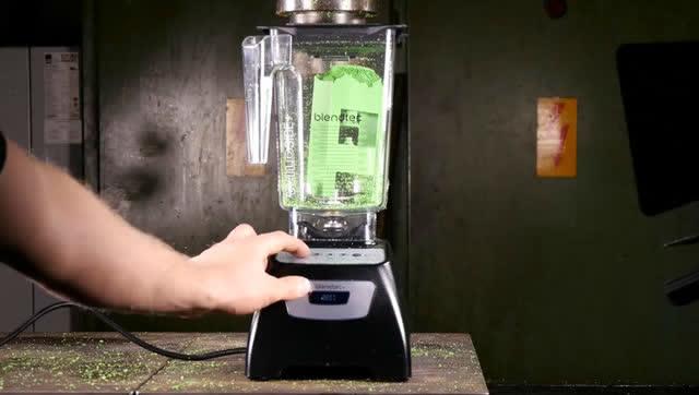 液壓實驗:混合攪拌機VS液壓機