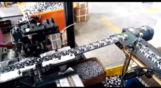 中國制造軸承也是杠杠的,完全機械化