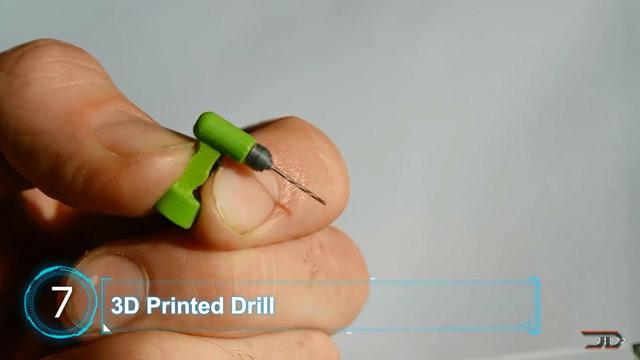 10个世界上最小的机械,让你大开眼界