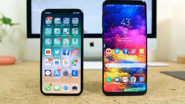 谁是更好的全面屏手机?iPhone X对比三星S9+