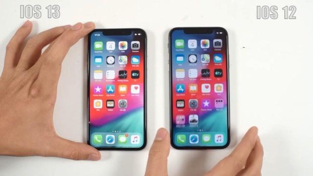 性能提升明顯,iOS 13與iOS 12運行速度對比測試