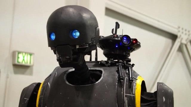 神还原!牛人打造侠盗一号机器人K-2SO