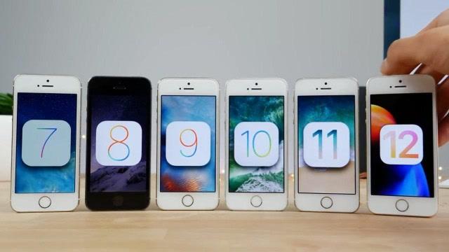 iPhone 5S運行iOS各代系統,哪一代最快?