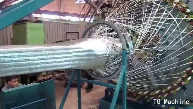各种难以置信的大型编织机,太高科技了