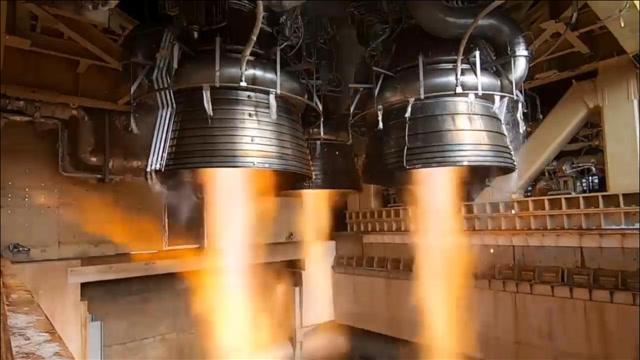 大型H3火箭发动机燃烧测试,感受一下日本军工制造能力