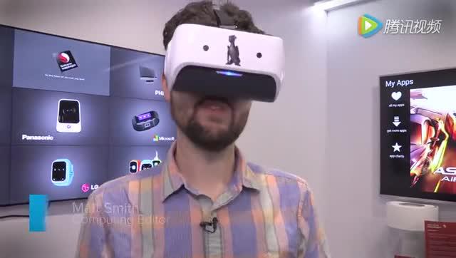 高通VR头盔试用:4K屏幕果然比Vive或者Rift给力