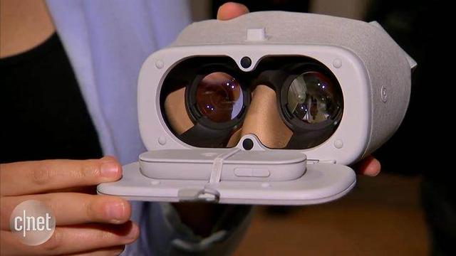 谷歌VR頭盔Daydream View體驗:做工精湛 居然有遙控器