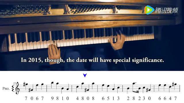 圓周率竟是如此美妙的旋律,大神用鋼琴彈出來了