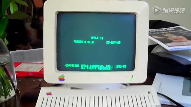 古董电脑Apple IIc上也能玩Flappy Bird