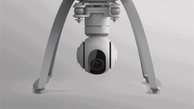 小米无人机真机曝光:旋转摄像头