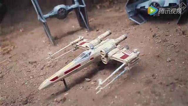 用無人機拍攝的《星球大戰》,太6了,跪著看完!