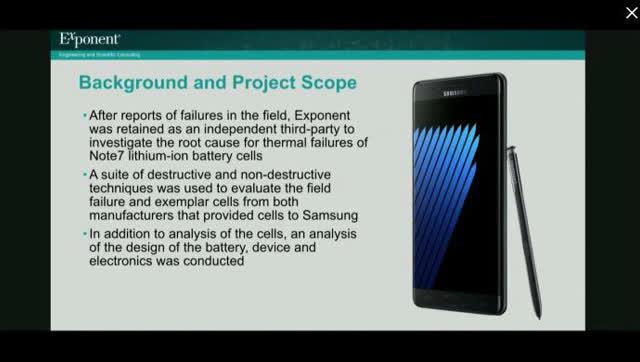 三星正式公布Note 7爆炸原因!电池设计和制造缺陷