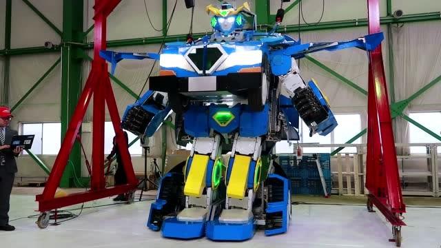 日本黑科技:可以变身成机器人的汽车