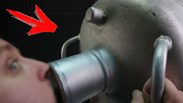 太可怕了!如果你喝下液氮会发生什么?