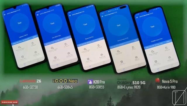 驍龍855有多強大?5款主流手機性能對比測試