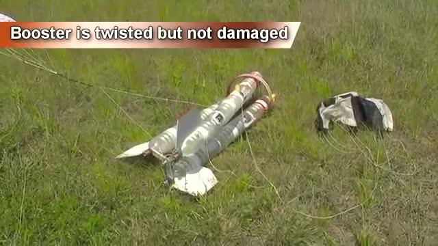 牛人制作的能飞300米的水火箭测试