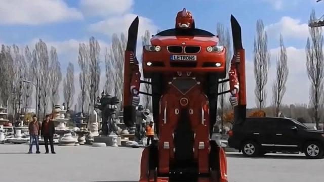 各种各样的变形金刚汽车,太酷了!