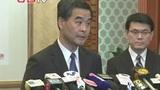 梁振英:香港奶粉限购令不是针对内地居民