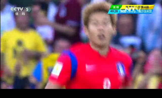 【韩国集锦】韩国半场追两球 强势反击仍憾负截图